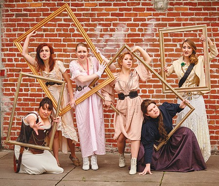 MAD AS HELL In SSU's 'Heroines,' iconic women join forces to tear down the walls of inequality.