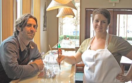 MAIN STREET MASHUP Steven Peyer and Jamilah Nixon bring Italian and South Asian street food together in Sebastopol. - MARIA TZOUVELEKIS