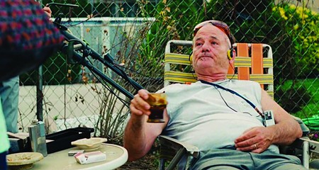 MAN OF LEISURE Bill Murray is the only man over 60 beloved by those under 25.