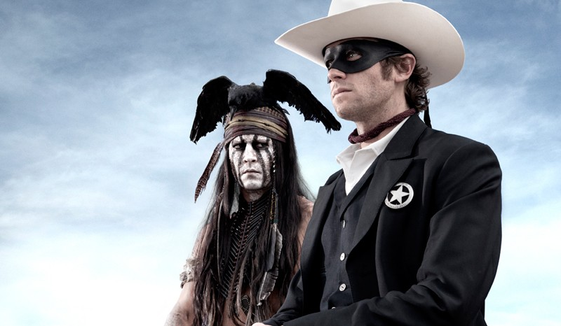 ME, UH, TONTO Johnny Depp could accept any role. He accepted this one.