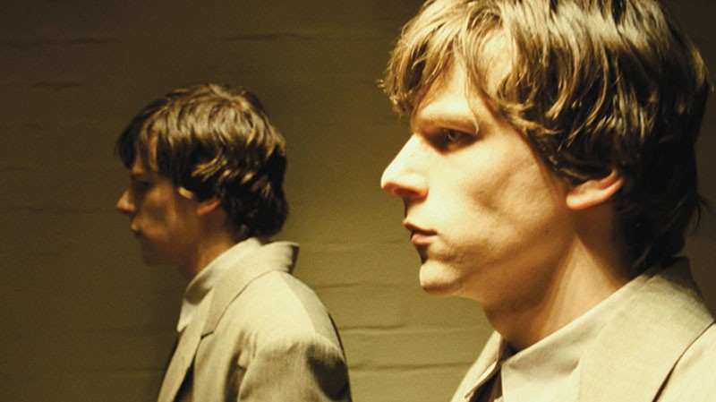 MIRROR IMAGE Jesse Eisenberg plays two shades of a character in 'The Double.'