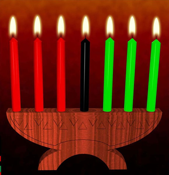 MISHUMAA SABA E.W. Wainwright leads a jazz celebration of Kwanzaa for kids on Dec. 26 at the Bay Area Discovery Museum.