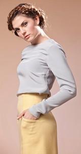 SARA SANGER - Model: Shelby Larsen