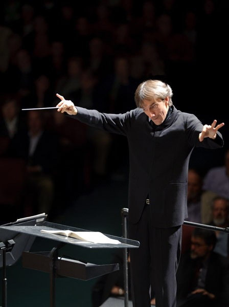 MODERN MAESTRO Bruno Ferrandis plans to keep new works and daring programming alive. - SANTA ROSA SYMPHONY
