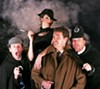 <b>MULTIPLE PERSONALITIES</b> Utilizing only four actors in all roles, '39 Steps' is a fast-paced thrill.
