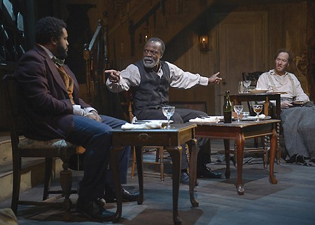 NEW ERA Tobie Windham, L. Peter Callender and Nicholas Pelczar star in  'Whipping Man.'