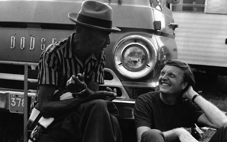 NOW HEAR THIS Bluesman Mance Lipscomb tells Chris Strachwitz a story.