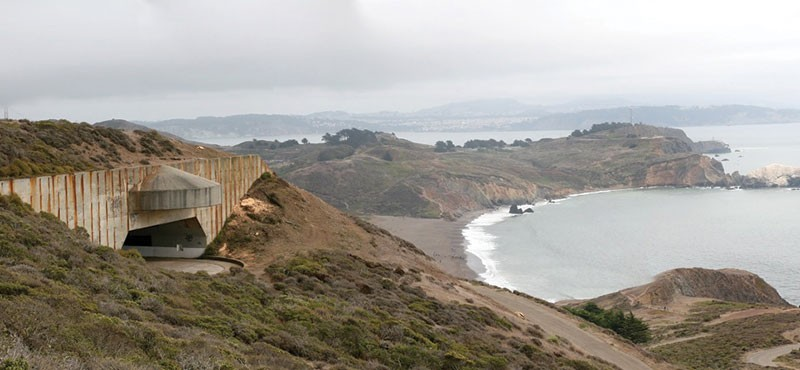 NOW HEAR THIS This WWII-era gun bunker above Rodeo Beach will become an unlikely soundstage.