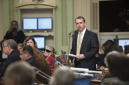 OUR MAN IN SACRAMENTO Is Assemblyman Marc Levine progressive enough for the North Bay?