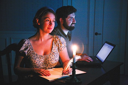 PAST/PRESENT Tom Stoppard's 'Arcadia' features Jocelyn Joy Murphy and Lito Briano. - ERIC CHAZANKIN
