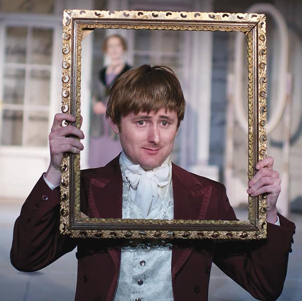 PICTURE THIS Peter Warden plays Mr. William Elliott in 'Persuasion.'