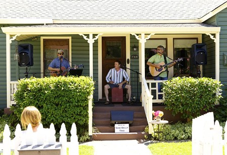 PORCH PLAYERS Porchfest will feature a hundred musical acts.