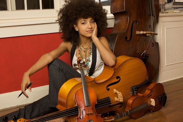 POWERHOUSE Esperanza Spalding says she's 'failed' when it comes to getting her music on the radio.
