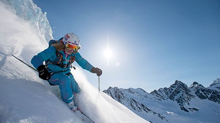 PRAY FOR SNOW But until the snow falls there's Warren Miller's new film No Turning Back.