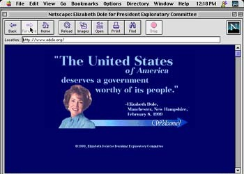 Presidential Election Websites
