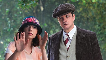 PRESTO! Emma Stone and Colin Firth try to keep Woody Allen's latest film from being unwatchable.