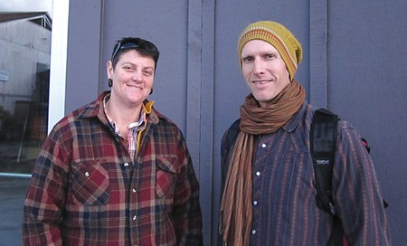 PRODUCE STARTUP Michelle Dubin and Tim Page will begin distributing local food at the Barlow in 2013.