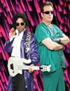 <b>PURPLE REIGN</b> Marshall Charloff and Dr. Fink keep the Revolution alive.