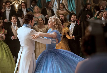 RAGS TO RICHES Lily James is well cast in the Kenneth Branagh's live-action 'Cinderella.'