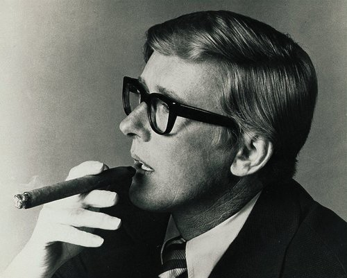ROLL IT Bob Wilkins, 'the strangest thing about this show on 2,' smoking as ever.