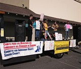 Santa Rosa Rally Against Wells Fargo and Private Prisons