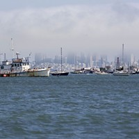 Sausalito's 'Anchor-Outs'  Michael Amsler