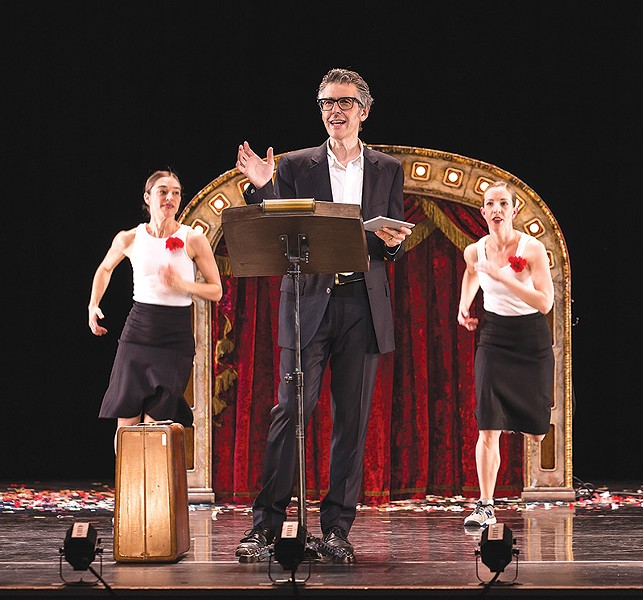 SEE AND HEAR Ira Glass' traveling show blends 'something no one wanted to combine but us.'