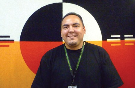 SELF-DETERMINATION Agustin Garcia is planning an upcoming Gathering of Native Americans specifically for youth. - LEILANI CLARK