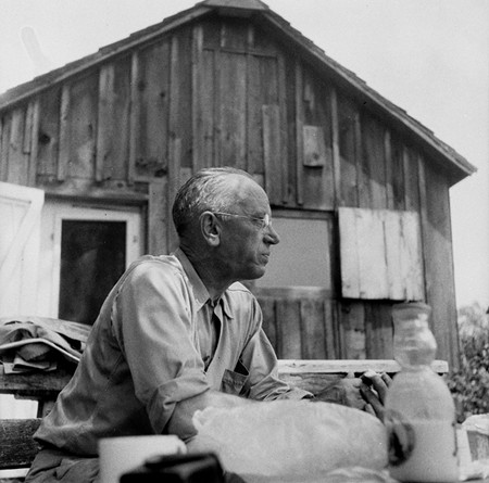 SHACK LIFE Aldo Leopold's 'Sand County Almanac' is a sacred text for the conservation movement. - COURTESY ALDO LEOPOLD FOUNDATION