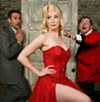 <b>SHOOT THE ACTORS</b> Jeff Coté, April Krautner and Matlock Zumsteg make plans for the world's worst play.