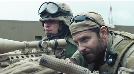 SHOOT TO ILL Bradley Cooper leads a cast of cutouts and cliches in Iraq War biopic.