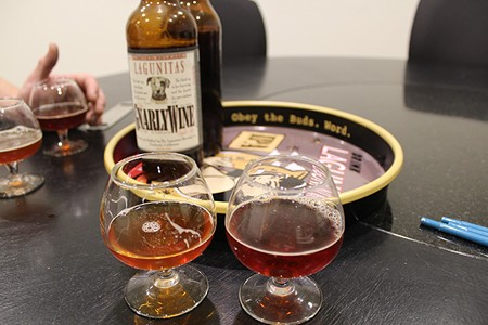 SIP, DON'T GULP Though Lagunitas doesn't brew its barleywine anymore, older vintages are aging nicely. - NICOLAS GRIZZLE