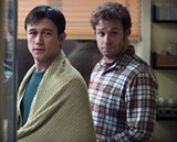 SOMBER BROS: Joseph Gordon-Levitt and Seth Rogen in this unusual comedy.