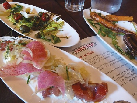 SPICE OF LIFE Small plates are the winners at Campo Fina, right around the corner from Ari Rosen's other popular spot, Scopa. - STETT HOLBROOK