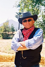 STAGE PARDNER After 30 years running the range, James Dunn steps down.