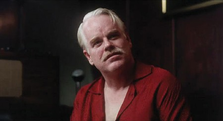 STIRRING THE POT Philip Seymour Hoffman in 'The Master.'