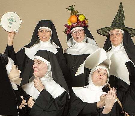 STRANGE HABITS The Raven Players take 'Nunsense' to their theater in Windsor.