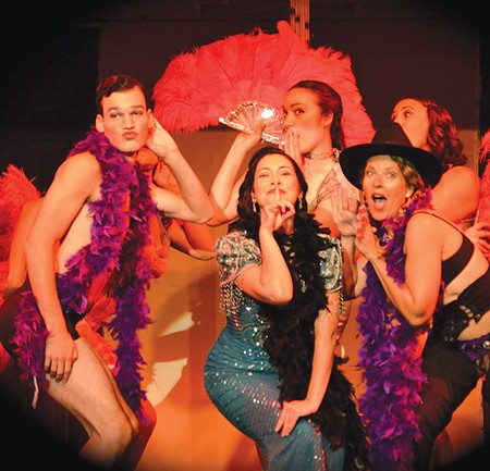 STRIKE A POSE 'Cabaret' is the first of six works staged by new North Bay theater company.