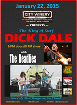 BLOSSOM MCCOY - Surf!~  Dick Dale w/ The Deadlies 1/22/15