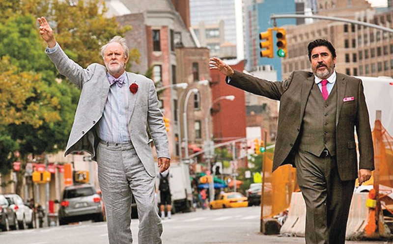 TAKE ME HOME John Lithgow and Alfred Molina play a newly married couple enduring temporary homelessness in New York.