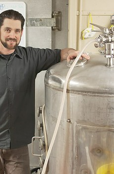 TANKED YEAST Kevin Robinson runs Divine Brewing at Sonoma Springs Brewing Co., bringing wine knowledge to brewing.