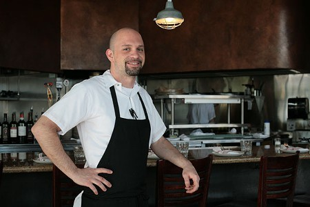 Tavola chef Ryan Favini says diners have rallied in support of the restaurant. - GABE MELINE