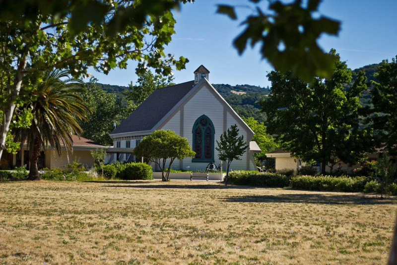 THE CHOSEN SPOT Library commissioner Mary Evelyn Arnold's church received a handsome $500k to temporarily house the Sonoma branch during remodeling. - NADAV SOROKER