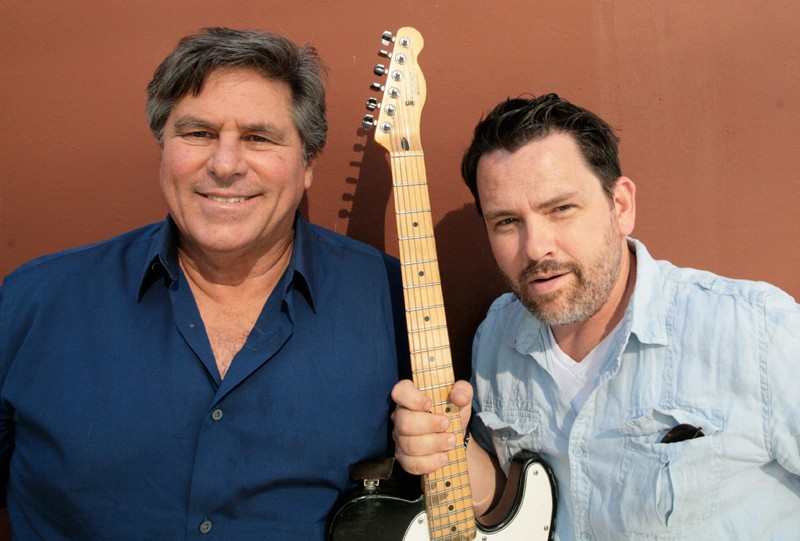 THE FOUNDERS Bob Vogt and Gabe Meyers have produced BottleRock entirely locally, without big concert-promotion giants like Live Nation or AEG. - GABE MELINE