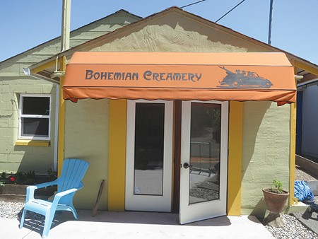 A WAY WITH CURDS Bohemian Creamery now sells cheese and dairy treats like frozen goat yogurt to the public. - JON BOWNE