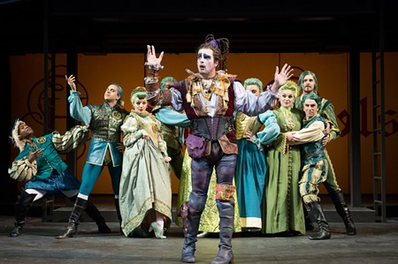 John Tufts leads a colorful cast in OSF's 'Head Over Heels' - JENNY GRAHAM