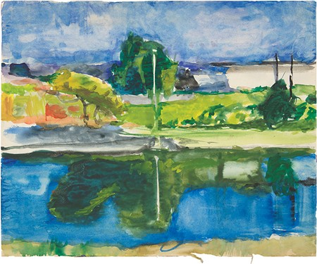 ABSTRACT THOUGHT Richard Diebenkorn is one of California's best known modern artists.