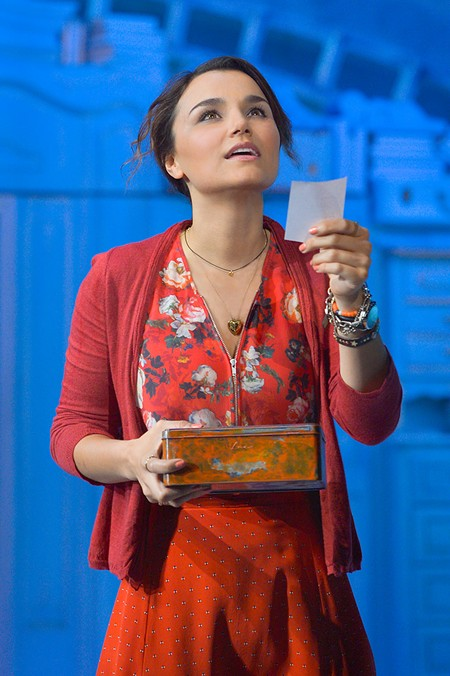 BE HAPPY Samantha Barks stars in the title role in Berkeley Rep's world premiere of 'Amélie.'