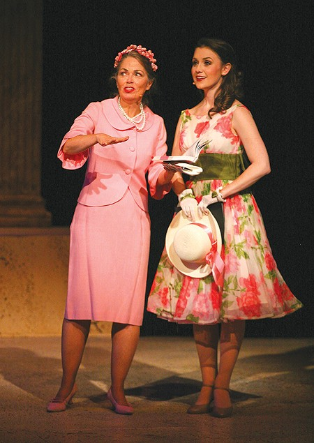 MOM AND ME Eileen Morris, left, and Jennifer Mitchell are excellent as mother and daughter in 'Piazza.'