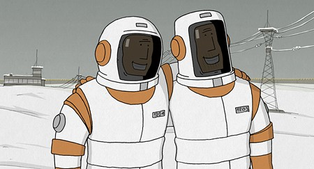 FINAL FRONTIERS  'We Can't Live Without the Cosmos' is animation at its best.